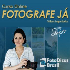 Professora Simxer Curso online Fotografe Já